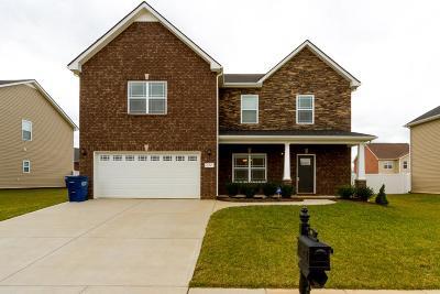 Clarksville Single Family Home For Sale: 272 Autumn Terrace Ln
