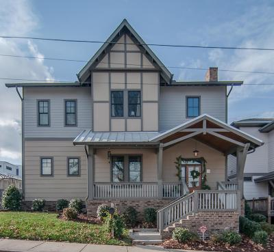 Nashville Single Family Home For Sale: 2103 S 11th Ave
