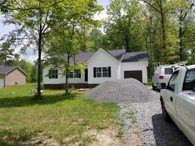 Bradyville Single Family Home For Sale: 9905 Jim Cummings Hwy