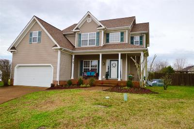 Thompsons Station Single Family Home For Sale: 1405 Staunton Mill Ct