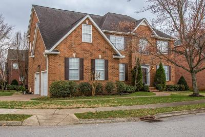 Franklin Single Family Home Under Contract - Showing: 282 Stonehaven Cir