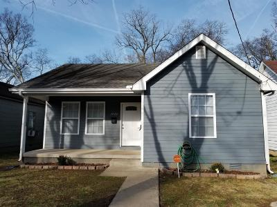 Nashville Single Family Home For Sale: 1020 North 5th