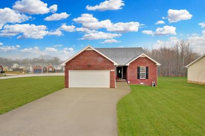 Clarksville Single Family Home For Sale: 409 Chestnut Grove Way