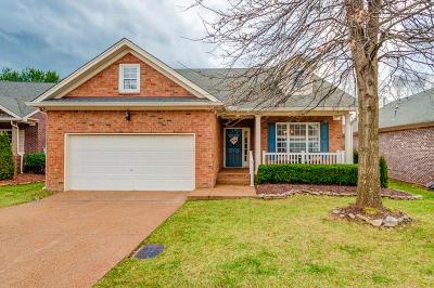 Brentwood Single Family Home Under Contract - Showing: 6115 Brentwood Chase Dr