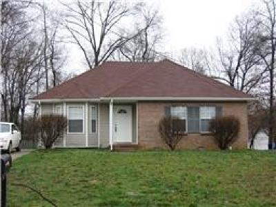 Christian County, Ky, Todd County, Ky, Montgomery County Rental For Rent: 772 Princeton Circle