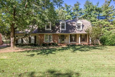 Franklin Single Family Home For Sale: 204 Cotton Ln