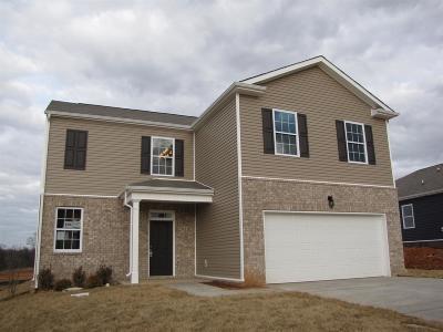 Clarksville Single Family Home For Sale: 233 Autumn Terrace Ln