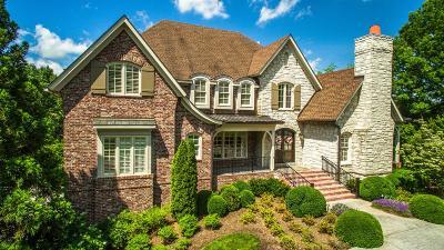 Franklin Single Family Home For Sale: 1021 Vaughn Crest Dr