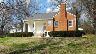 Maury County Single Family Home Under Contract - Showing: 1010 Oakdale Dr