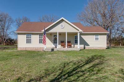 Murfreesboro Single Family Home For Sale: 2939 Factory Rd
