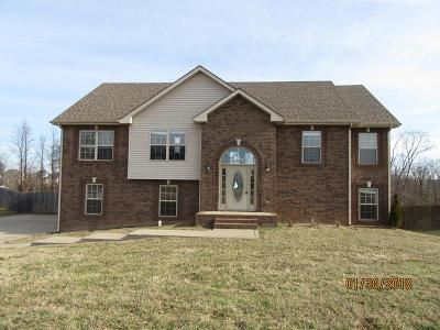 Clarksville Single Family Home Under Contract - Showing: 1553 Bonnie Blue Ave