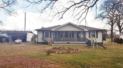 Van Buren County Single Family Home Under Contract - Showing: 8498 Rocky River Rd