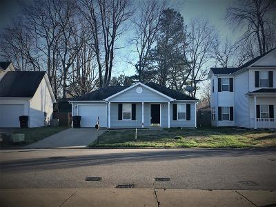 Murfreesboro Single Family Home Under Contract - Showing: 221 Meigs Dr