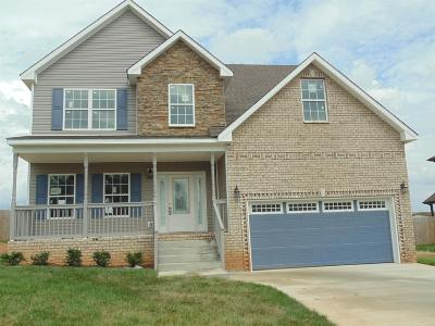 Clarksville TN Single Family Home Under Contract - Not Showing: $229,500