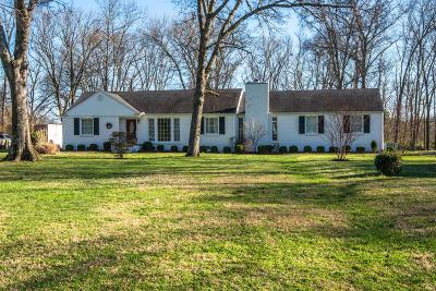 Davidson County Single Family Home For Sale: 6229 Bresslyn Rd