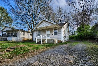 Clarksville TN Single Family Home For Sale: $64,900