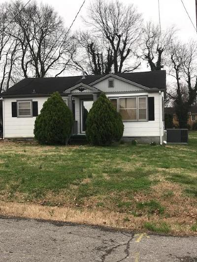 Sumner County Single Family Home Under Contract - Showing: 329 E Park Ave