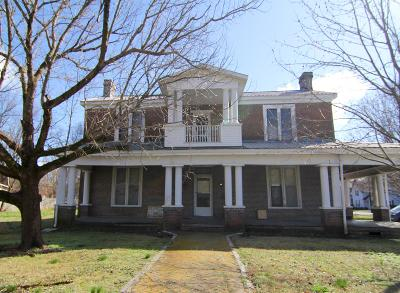 Murfreesboro Single Family Home For Sale: 406 N Academy St
