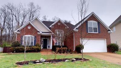 Thompson's Station, Thompsons Station Single Family Home For Sale: 1220 Annapolis Cir