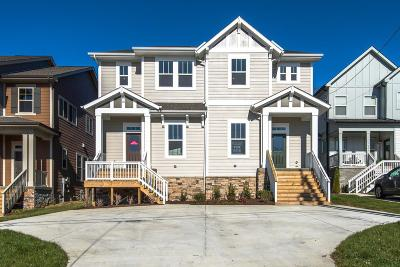 East Nashville Single Family Home Under Contract - Showing: 1417 a Otay St