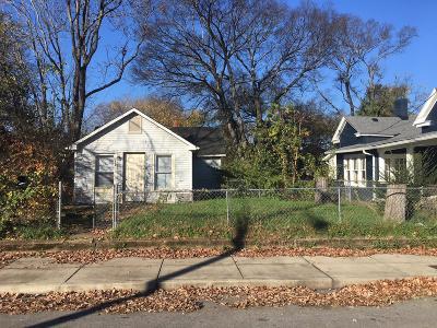 Nashville Single Family Home For Sale: 616 Stockell St