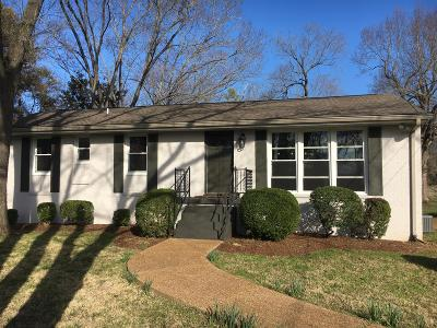 Franklin TN Single Family Home For Sale: $419,000