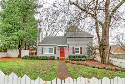 Franklin Single Family Home Under Contract - Showing: 9 Lee Ct