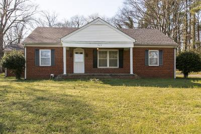 Maury County Single Family Home Under Contract - Showing: 763 Santa Fe Pike