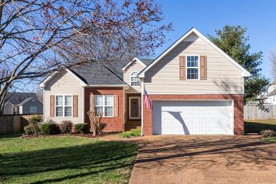 Spring Hill  Single Family Home Under Contract - Showing: 2105 Kenowick Ct