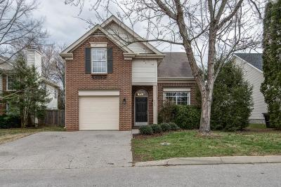Franklin Single Family Home Under Contract - Showing: 404 Newbary Ct