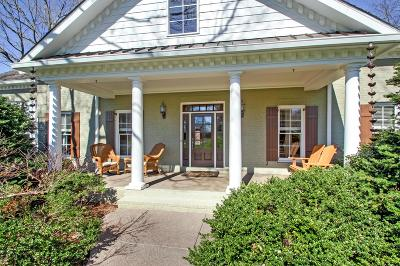 Franklin Single Family Home For Sale: 604 Burghley Ln