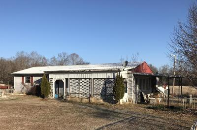 Chapmansboro Single Family Home For Sale: 2016 Mosley Ferry Rd