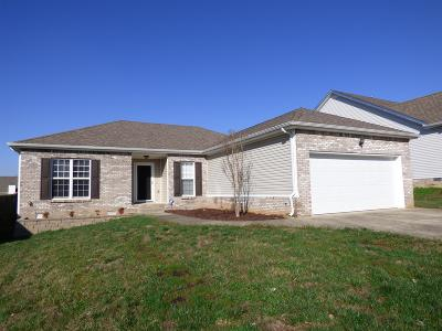 Christian County, Ky, Todd County, Ky, Montgomery County Single Family Home For Sale: 3504 Oak Creek Dr