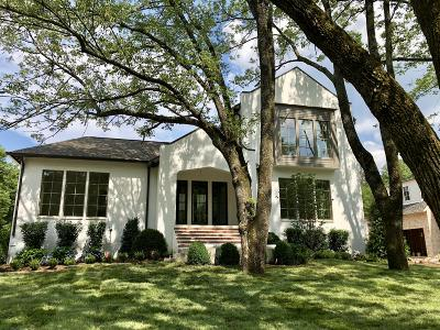 Green Hills Single Family Home For Sale: 4228 Wallace Lane