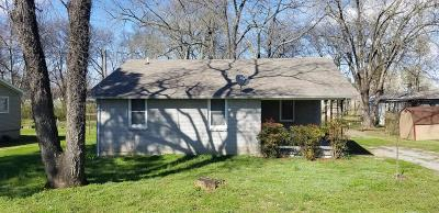Gallatin TN Single Family Home For Sale: $144,500