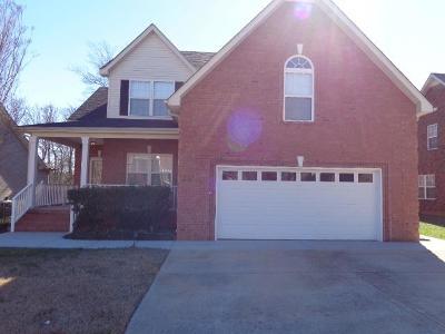 Murfreesboro Rental For Rent: 4127 Lazarus Way