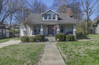 East Nashville Single Family Home Under Contract - Showing: 1440 Pennock Ave