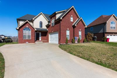 Clarksville Single Family Home For Sale: 3312 Franklin Meadows Way