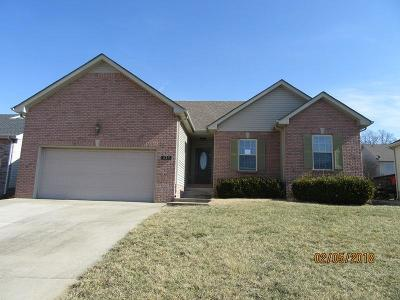 Christian County, Ky, Todd County, Ky, Montgomery County Single Family Home Under Contract - Showing: 625 Wolfchase Dr
