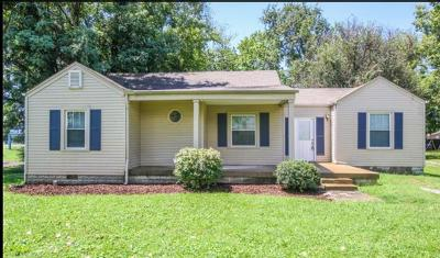 Murfreesboro Single Family Home Under Contract - Showing: 510 2nd Ave