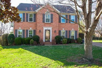 Franklin Single Family Home Under Contract - Showing: 521 Foxcroft Cir