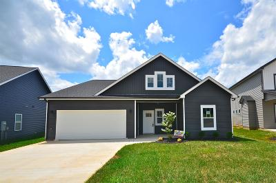 Clarksville Single Family Home Under Contract - Showing: 90 Eagles Bluff