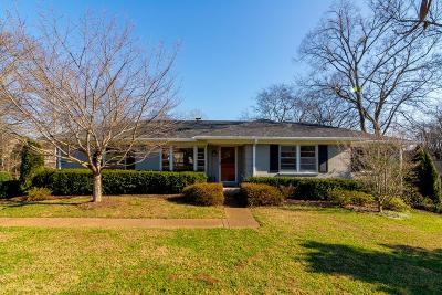 Nashville Single Family Home For Sale: 5235 Kincannon Dr