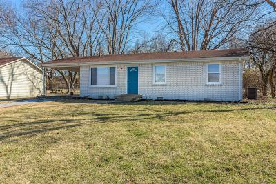 Gallatin Single Family Home Under Contract - Showing: 721 Trail Dr