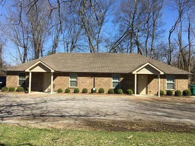 Clarksville Multi Family Home Under Contract - Not Showing: 333 Rossview Rd