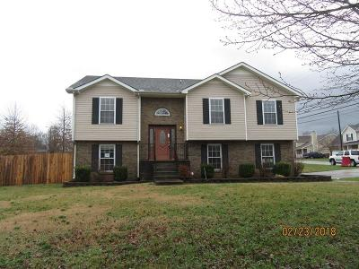 Clarksville Single Family Home Under Contract - Showing: 1436 Buchanon Dr