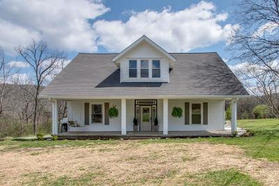 Trousdale County Single Family Home For Sale