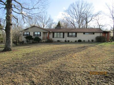 Cumberland Furnace Single Family Home For Sale: 2120 Gamble Hollow Rd