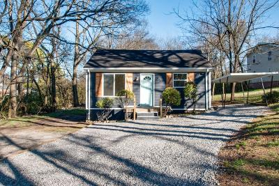 Nashville Single Family Home Under Contract - Showing: 2213 Sultana Avenue