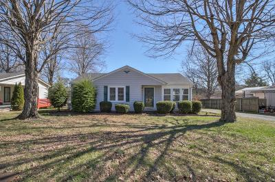 Gallatin Single Family Home For Sale: 1037 Edgewood Dr
